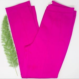 H&M Stunning Dark Pink Hi-Rise Pants Size (6)